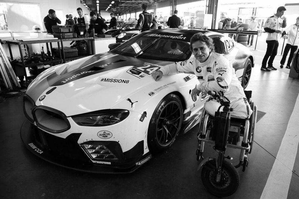 Alex Zanardi. Photo: BMW.