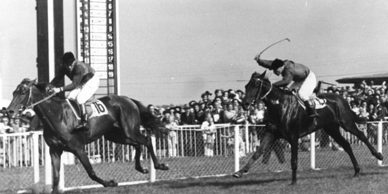 1949 Deutsches Derby. Source: Wikipedia.