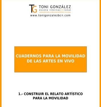 """Imagen: Portada publicación """"Construir el Relato Artístico para la Movilidad""""."""