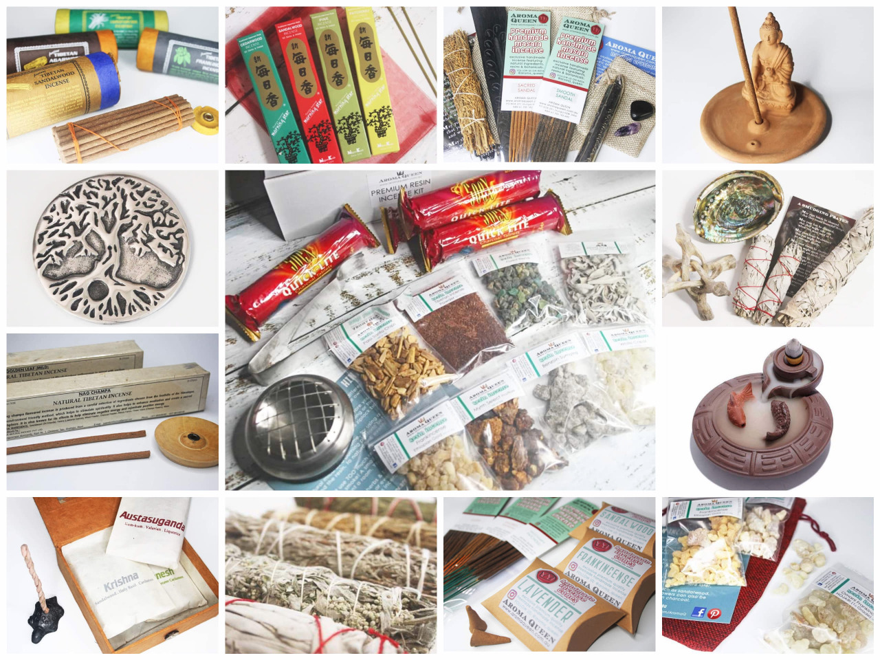 AQ Incense Packs & Kits